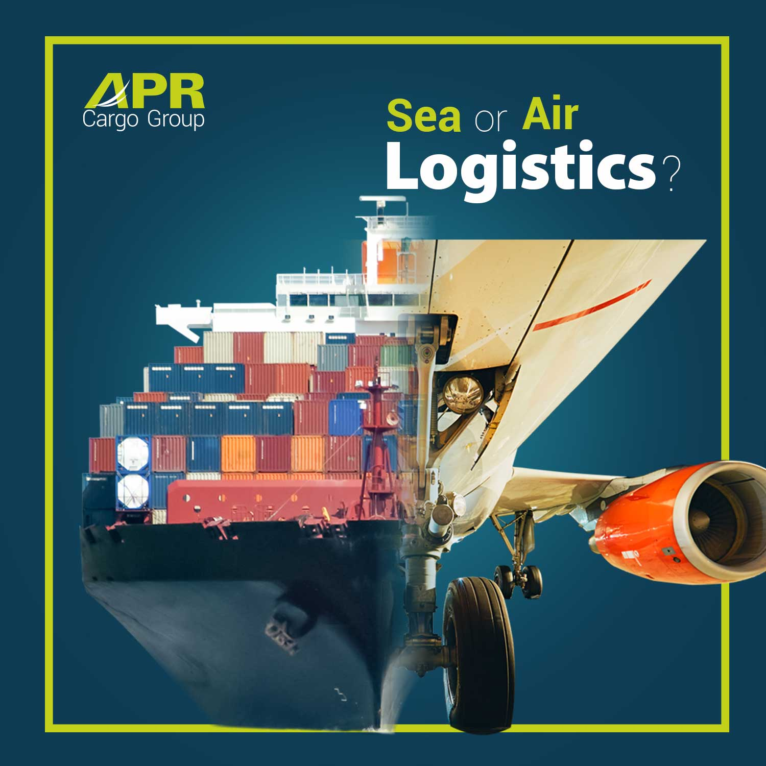 air and sea logistics
